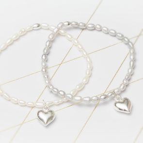 Catilda Freshwater Pearl Personalised Friendship Bracelet
