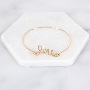 Personalised Love Bracelet