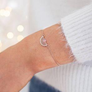 Open Fan Personalised Bracelet