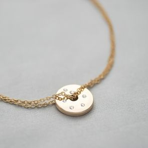 Personalised Constellation Birthstone Bracelet