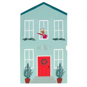 Personalised Festive House Advent Calendar