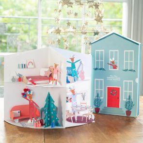 Personalised Festive House Advent Calendar