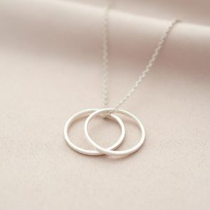 Personalised Sterling Silver 20th Birthday Necklace