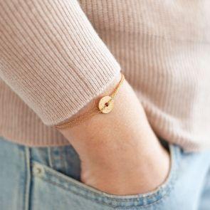Personalised Constellation Birthstone Bracelet