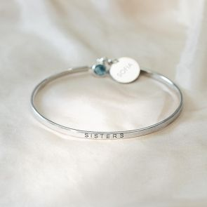 Orla Statement Personalised Bangle