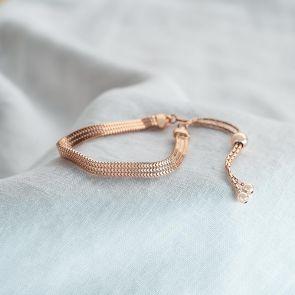 Sterling Silver Slider Personalised Bracelet