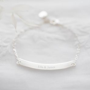 Rope Chain and Cherie Personalised Bracelet Set