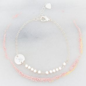 Sammi Disc Personalised Friendship Bracelet