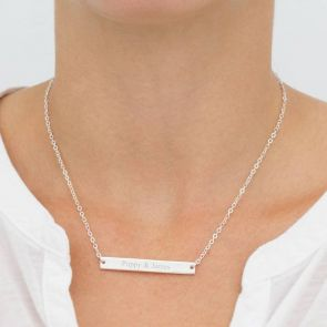 Carlotta Personalised Message Necklace