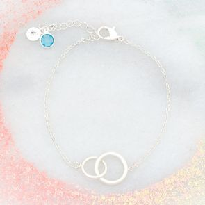 Lia Circle Of Life Infinity  Personalised Bracelet