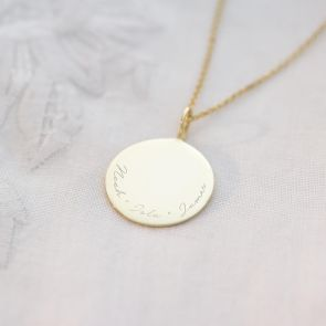 Sterling Silver Sia Family Name Personalised Necklace