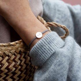Silana Suede Personalised Bracelet