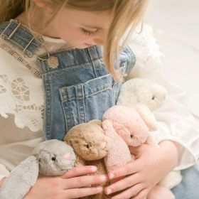 Jellycat bashful bunny, available in cream, blush, beige and silver