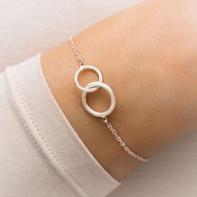 Lia Circle Of Life Personalised Infinity Bracelet