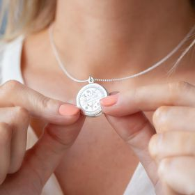 Love Token Locket Personalised Necklace