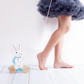Mini Bloom Rabbit Pull Along Toy