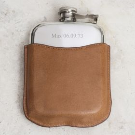 Mr Jones Personalised Hip Flask