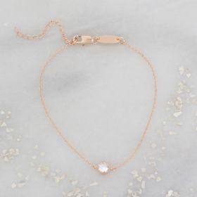 Rosalie Personalised Crystal Bracelet