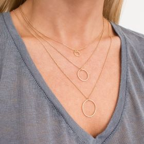 Layered Circle Of Life Necklace