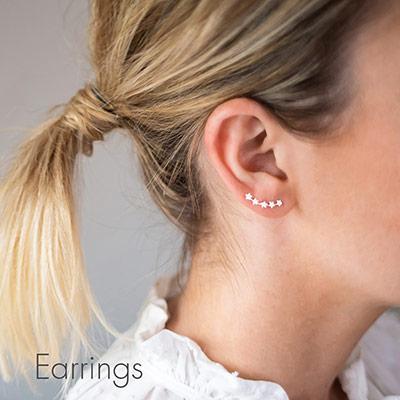 Earrings by Bloom Boutique