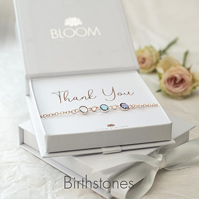 Birthstone Jewellery by Bloom Boutique